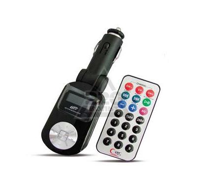 FM-трансмиттер AVS F525 (черный)
