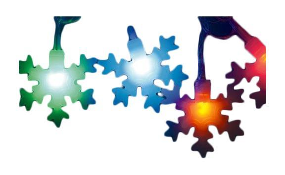 Гирлянда Uniel Uld-s0700-050/dta multi ip20 snowflakes-3
