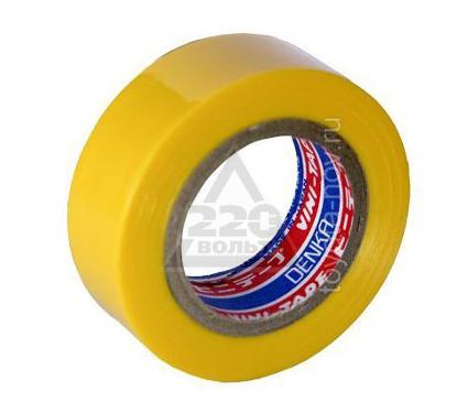 Изолента DENKA #102-Yellow 9m