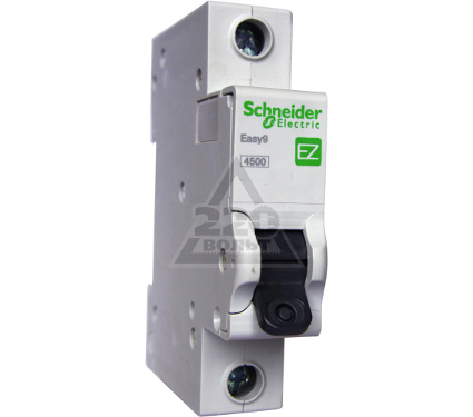 Автомат SCHNEIDER ELECTRIC EASY9 ВА 1П 40А C 4.5кА