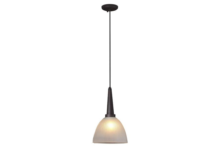 Светильник подвесной Lamplandia 1038 single wenge