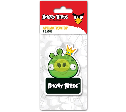 Ароматизатор ANGRY BIRDS KING PIG