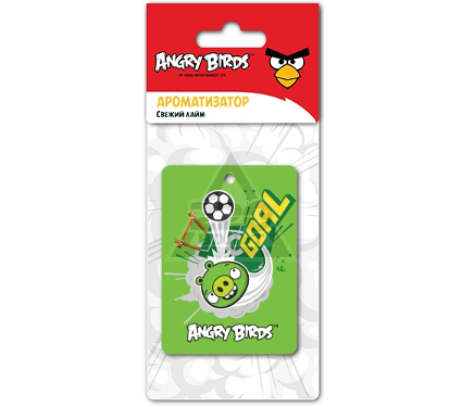 Ароматизатор ANGRY BIRDS FOOTBALL