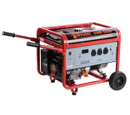 Купить Бензиновый генератор WESTER GNB5500, генераторы (электростанции)