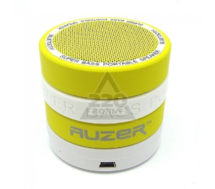 Портативная Bluetooth-колонка AUZER AS-M7 желтый