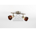 Люстра RIVOLI Arlington-W/C-2хG9-40W-Antique brass (10/160)