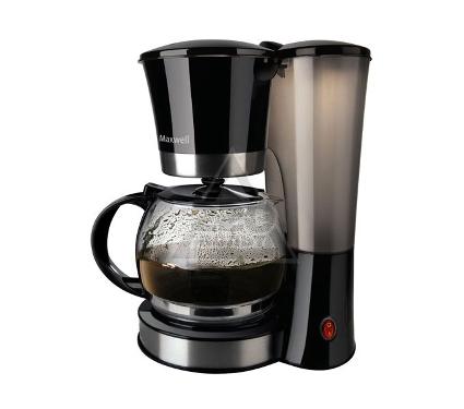 Кофеварка MAXWELL MW-1653(BK)