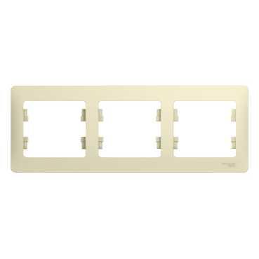 Рамка Schneider electric Gsl000203 glossa
