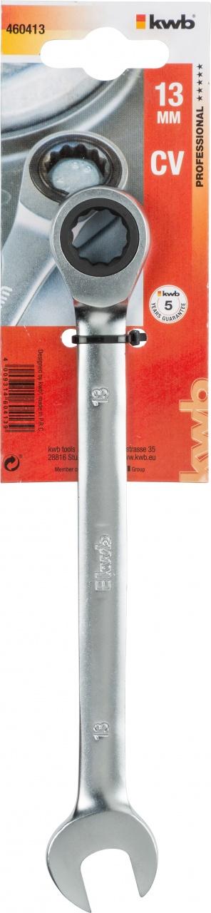 Ключ гаечный с трещоткой Kwb 4604-13
