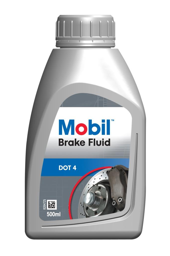 Тормозная жидкость Mobil Brake fluid dot4 (кан0,5л)