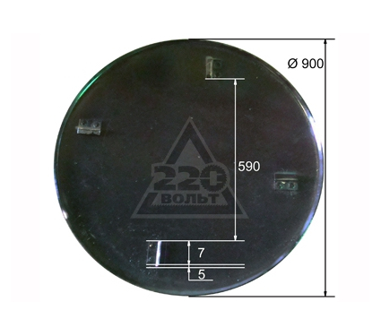 Диск ТСС DMD, DMR 900