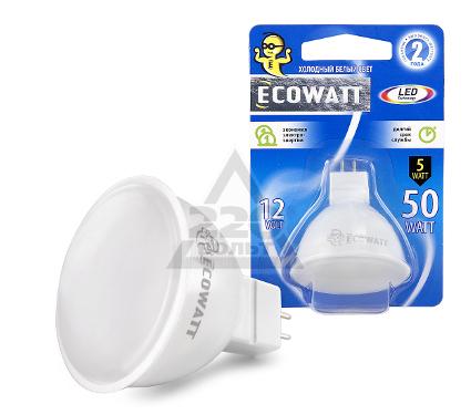 Купить Лампа светодиодная ECOWATT MR16 12В 5(50)W 4200K GU5.3, лампы