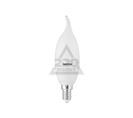 Лампа светодиодная CAMELION LED7.5-CW35/845/E14