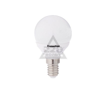 Лампа светодиодная CAMELION LED6.5-G45-CL/830/E14