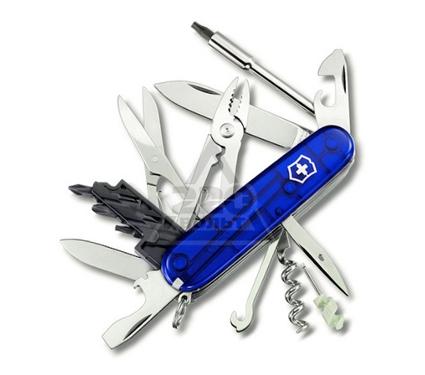 Швейцарский нож VICTORINOX CyberTool 34 функц. синий (1.7725.T2)