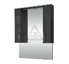 Зеркальный шкаф EDELFORM Соло-III 76 серый