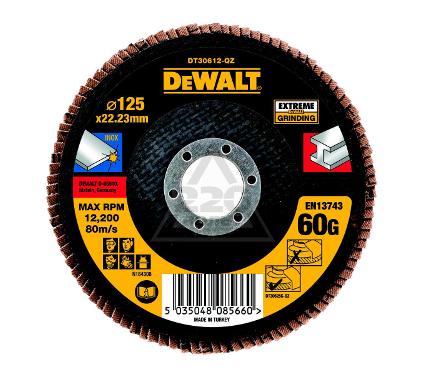 Круг Лепестковый Торцевой (КЛТ) DEWALT DT30612QZ