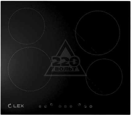 Купить Панель варочная LEX EVH 640 BL, варочные панели