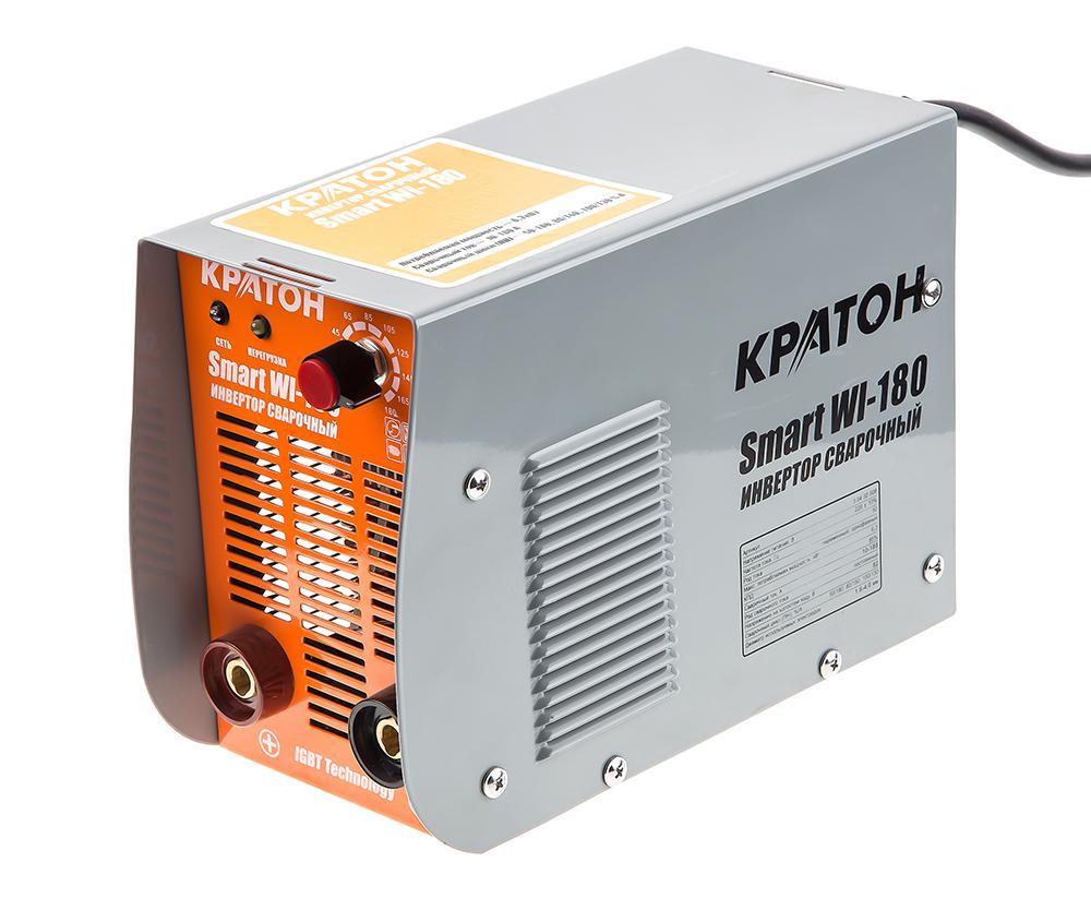 Сварочный аппарат КРАТОН Smart wi-180 кратон smart wi 180