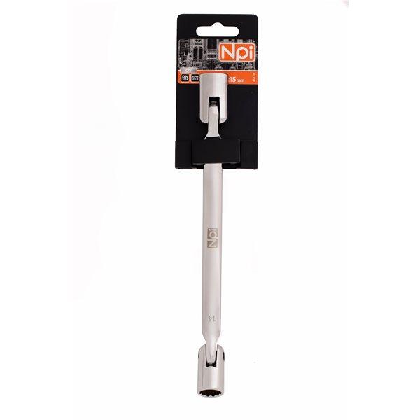 Ключ торцевой шарнирный Npi 45128  торцевой прямой шарнирный ключ 12х13мм 220мм jtc 3936