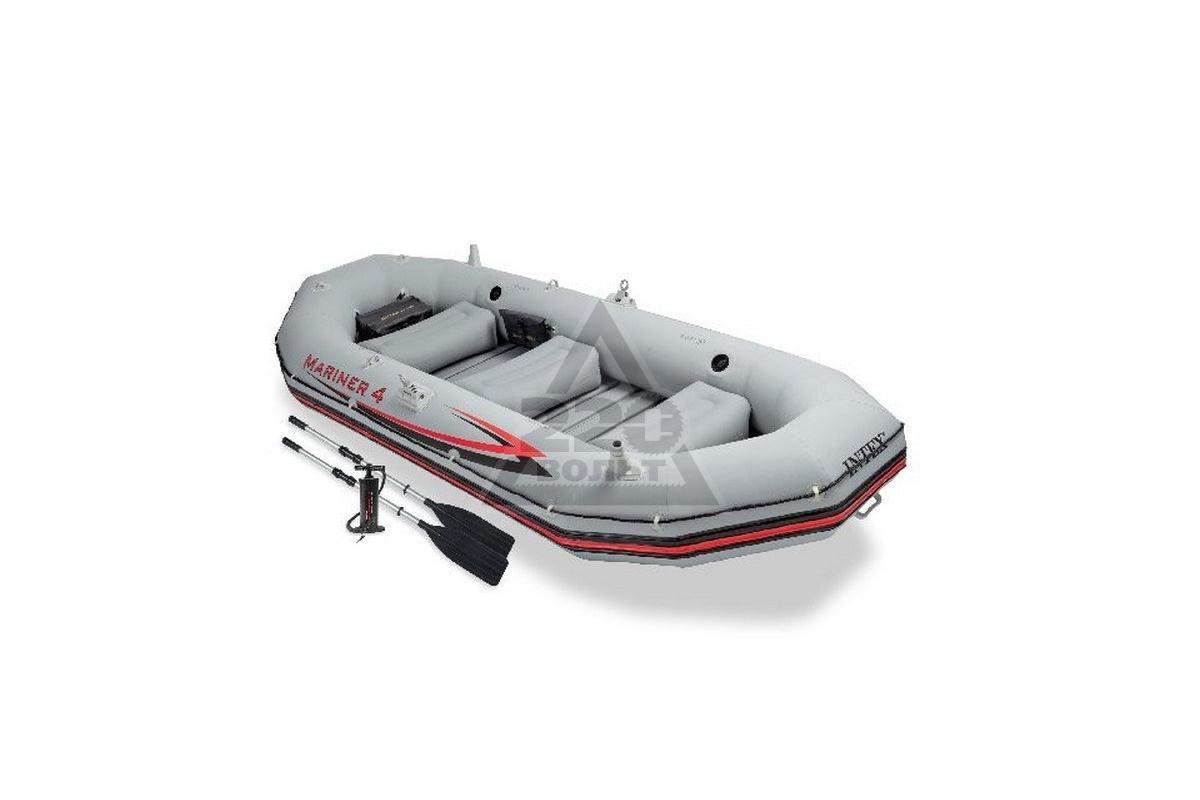 купить надувную лодку intex mariner