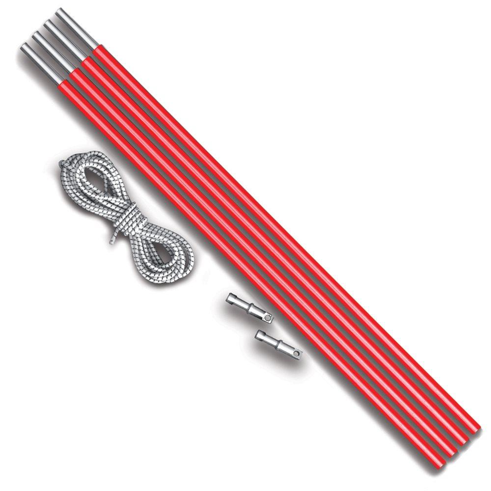 Запасные дуги Nova tour D 8,5 mm v2 Красный металлик