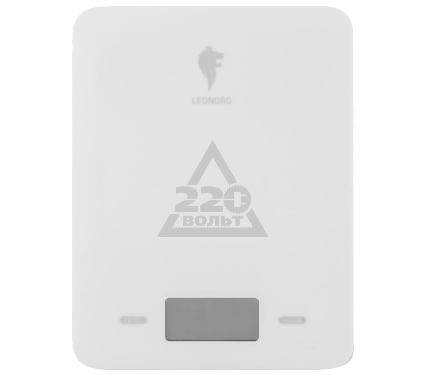 Весы кухонные LEONORD LE-4011 (белые)