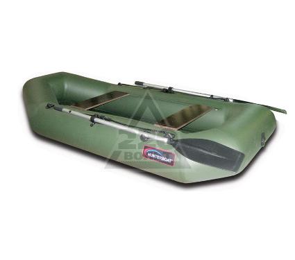 надувная лодка hunterboat хантер 340 серый купить
