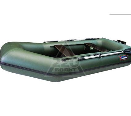 Лодка HUNTERBOAT Хантер 280 ЛТ Люкс зеленая
