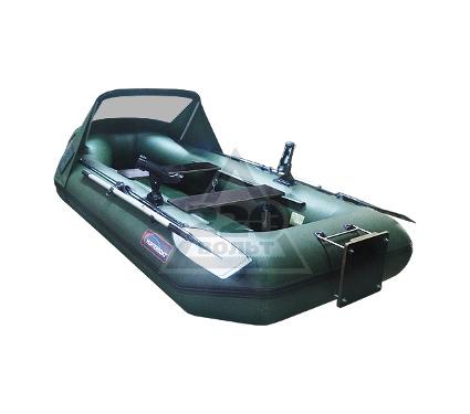 Лодка HUNTERBOAT Хантер 320 ЛК Люкс зеленая