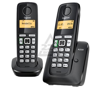 Купить Радиотелефон GIGASET A220 DUO, радиотелефоны