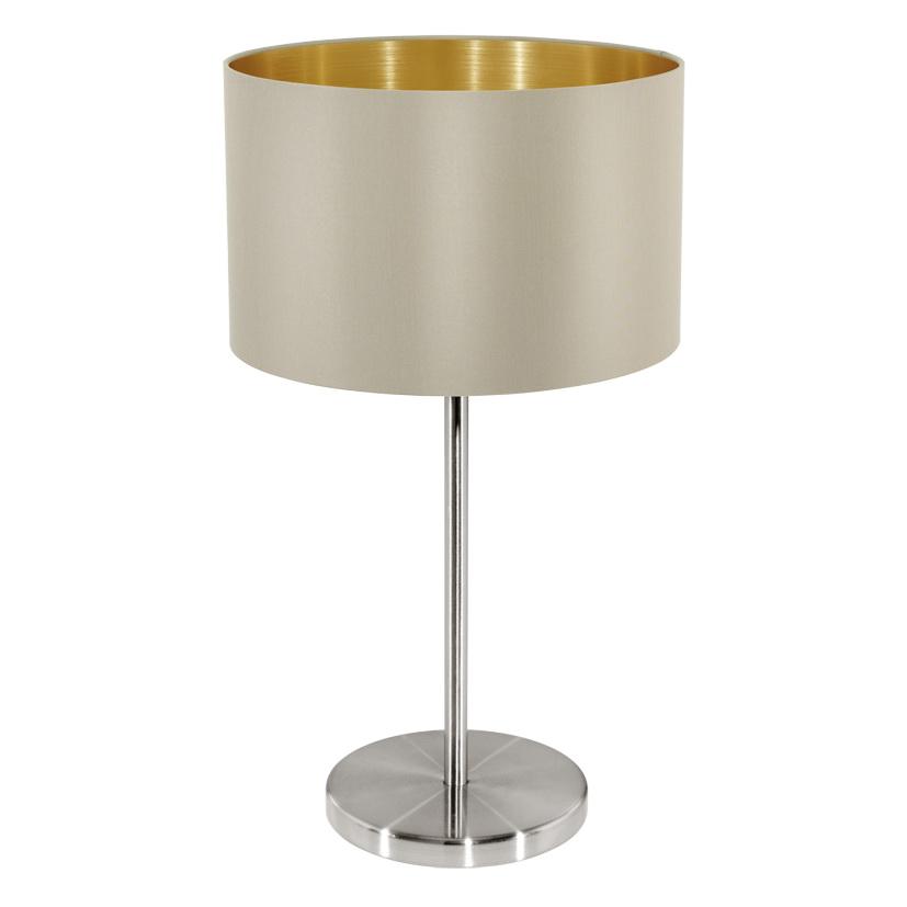 Лампа настольная Eglo Maserlo 31629 абажур из бисера для настольной лампы в спб