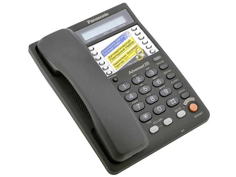 Проводной телефон Panasonic Kx-ts2365rub panasonic kx tg8061 rub dect телефон