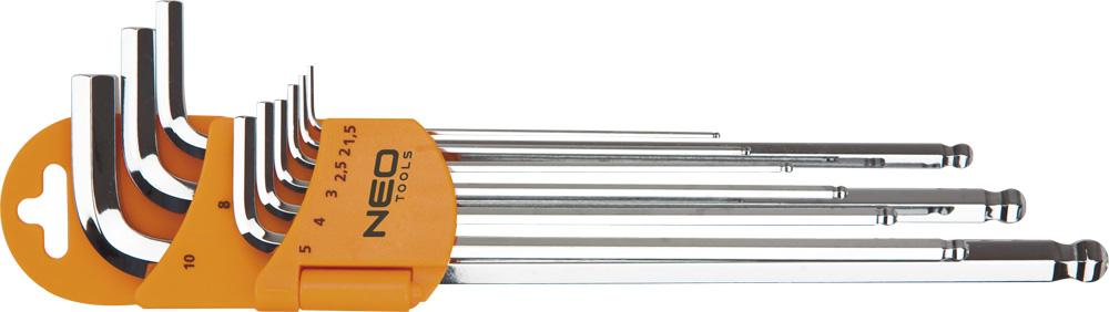 Набор ключей Neo 09-525