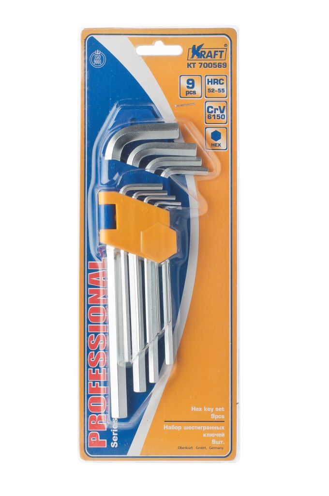 Набор ключей Kraft КТ 700569