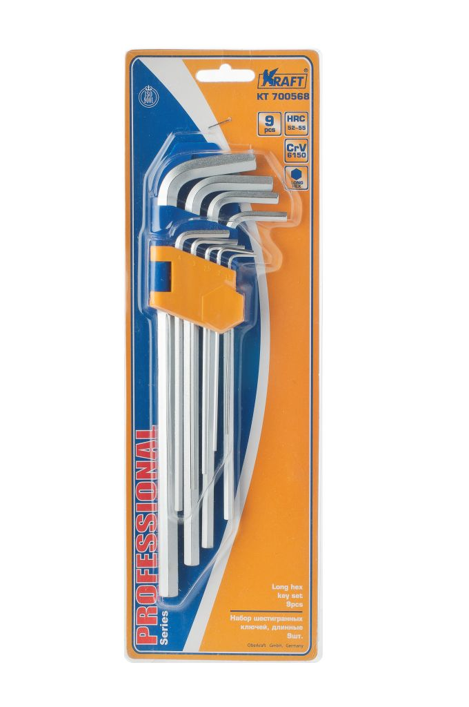 Набор ключей Kraft КТ700568