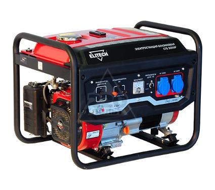 Купить Бензиновый генератор ELITECH СГБ 3000 Р, генераторы (электростанции)