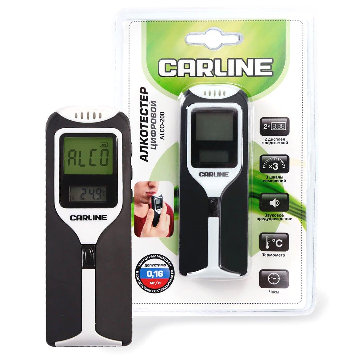 Алкотестер Carline Alco-200 от 220 Вольт