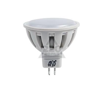 Лампа светодиодная ASD LED-JCDR-standard 7.5Вт 160-260В GU5.3 4000К