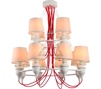 Люстра ARTE LAMP SERGIO A3325LM-8-4WH