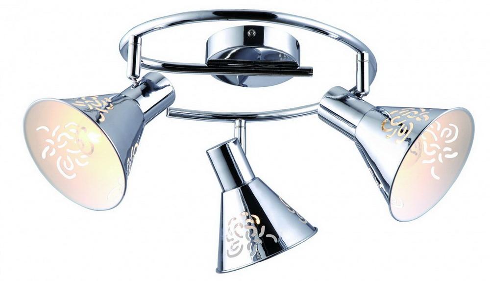 Спот Arte lamp Cono a5218pl-3cc спот arte lamp cono a5218pl 3cc