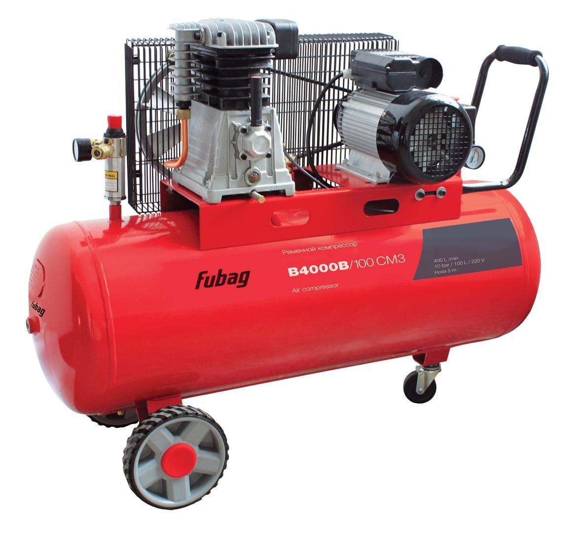 Компрессор Fubag B4000b/100 СМ3
