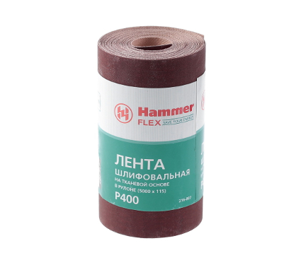 Шкурка шлифовальная в рулоне HAMMER Flex  216-007