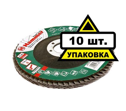 Круг Лепестковый Торцевой (КЛТ) HAMMER Flex КЛТ 115 Х 22 Р 40 80шт