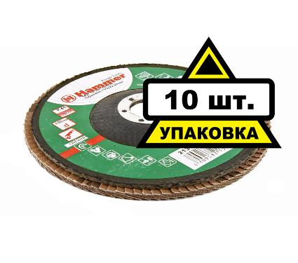 Круг Лепестковый Торцевой (КЛТ) HAMMER КЛТ 150 Х 22 Р 80 60шт