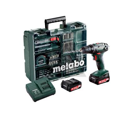 Дрель-шуруповерт METABO BS14.4 с набором