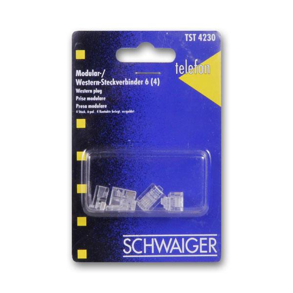 Штекер Schwaiger 23185 1