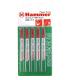 Пилки для лобзика HAMMER JG WD-PL T119B (5шт.)