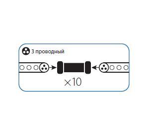 Коннектор КОСМОС Koc-dl-3w13-ci