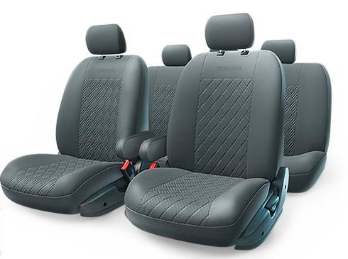Чехол на сиденье Autoprofi Per-1305g bk (m)